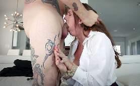 Darmowy Sex Porno - Sadie Holmes, Ruchanie W Usta