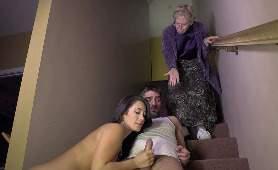 Porno Ostry Seks - Eva Lovia, Na Schodach